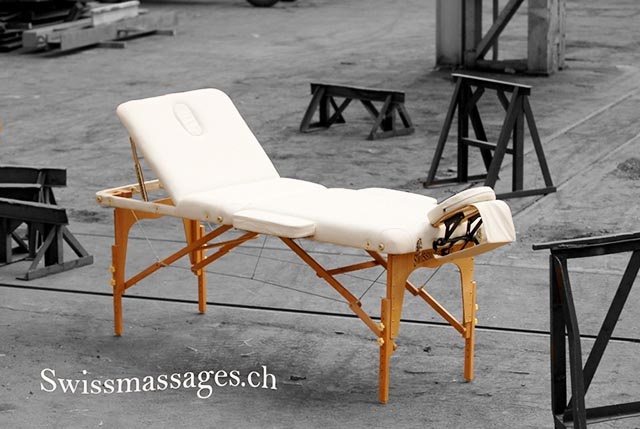 table de massage swissmassage 2008