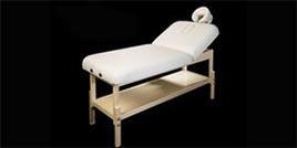 Modèle Dune : Table de massage Fixe en bois - Swissmassage