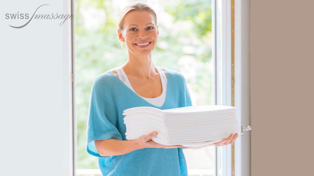 Serviette d examen médical lavable et jetable