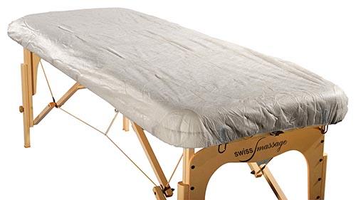 Drap housse papier jetable table de massage