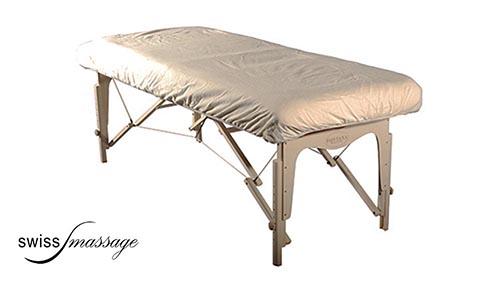 Drap housse table de massage coton flanelle sans trou facial