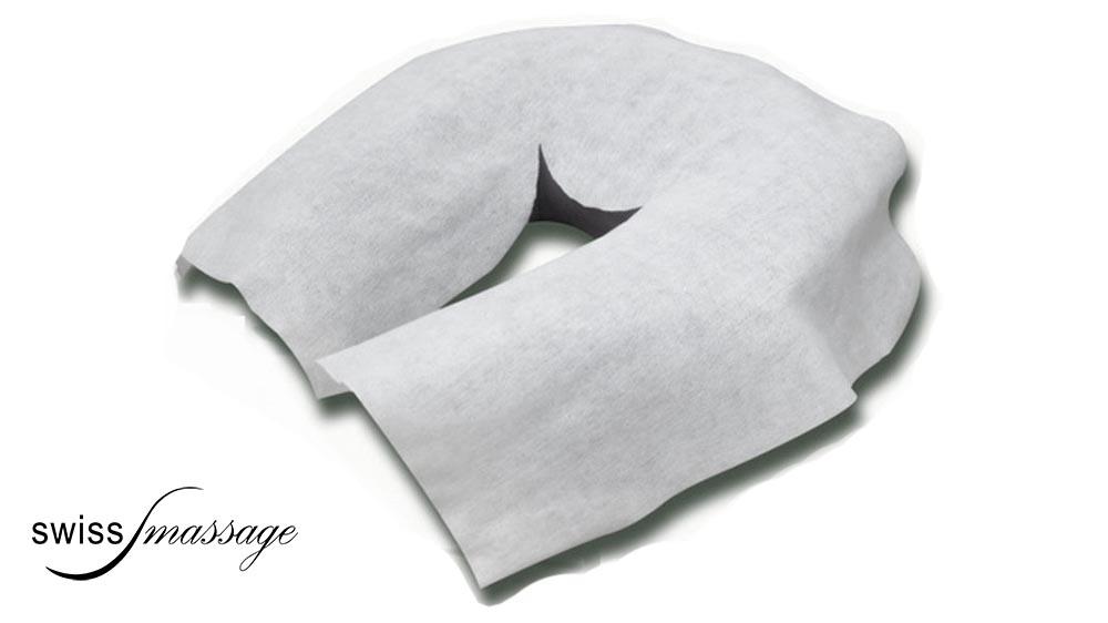 Protection jetable en papier pour coussin facial