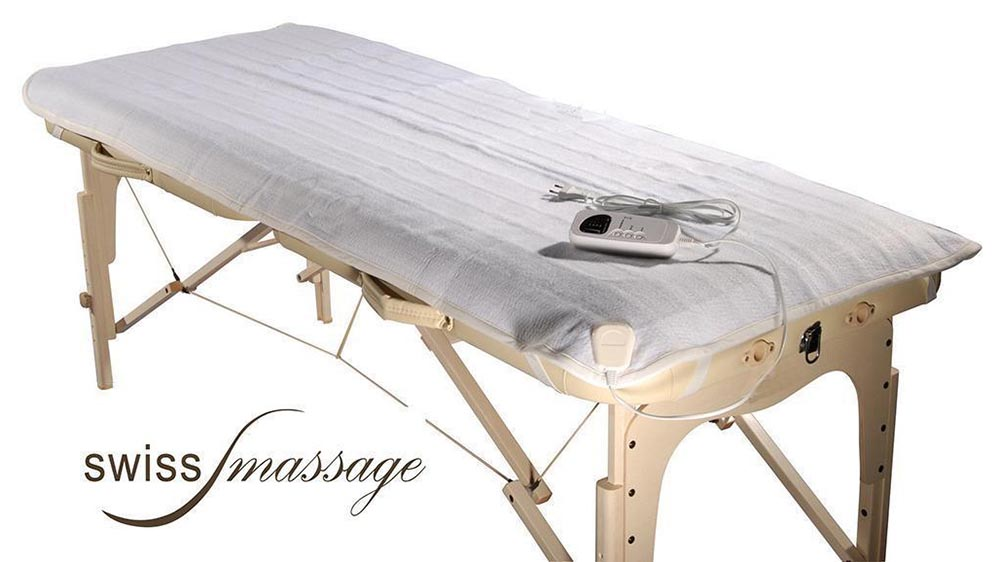 Couverture chauffante table de massage