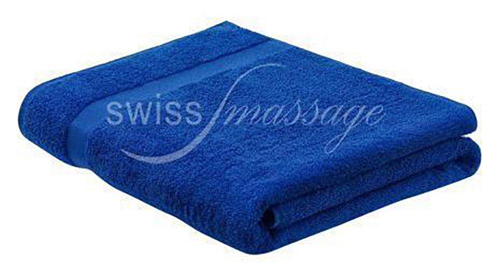 Linge de massage 2.2m/1m bleu royal