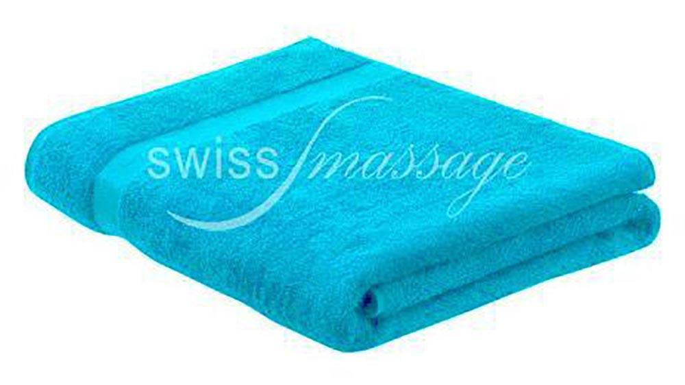 Linge de massage 2.2m/1m bleu turquoise