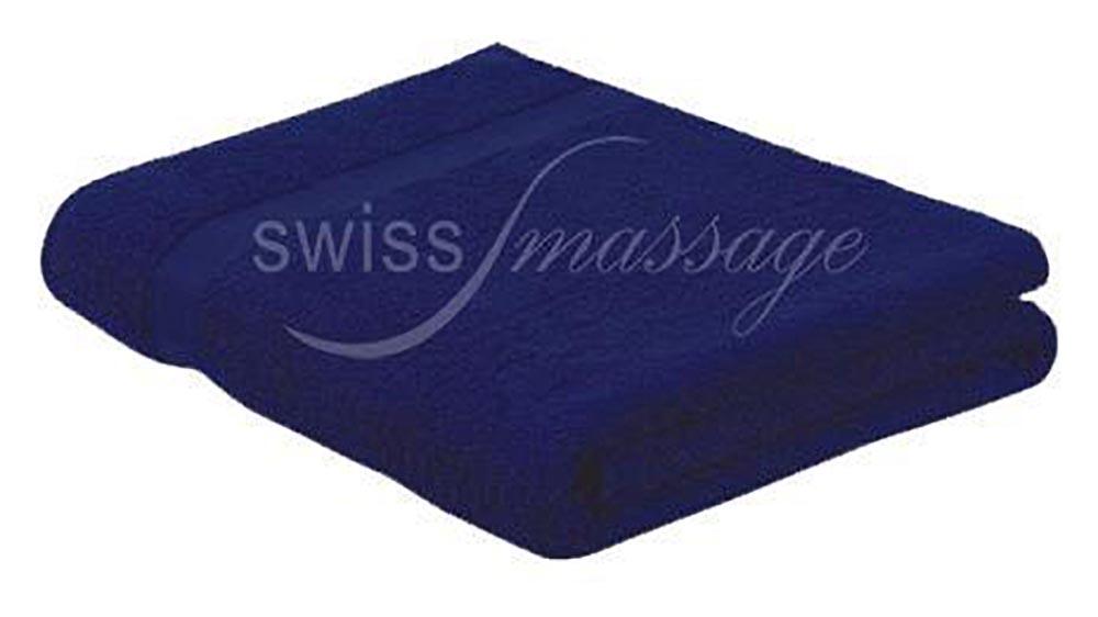 Linge de massage 2.2m/1m bleu marine