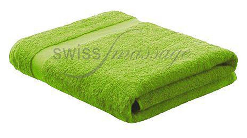 Linge de massage 2.2m/1m vert kiwi