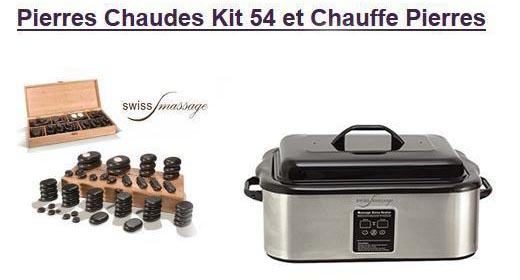 Pierres Chaudes Kit 54 et Chauffe Pierres