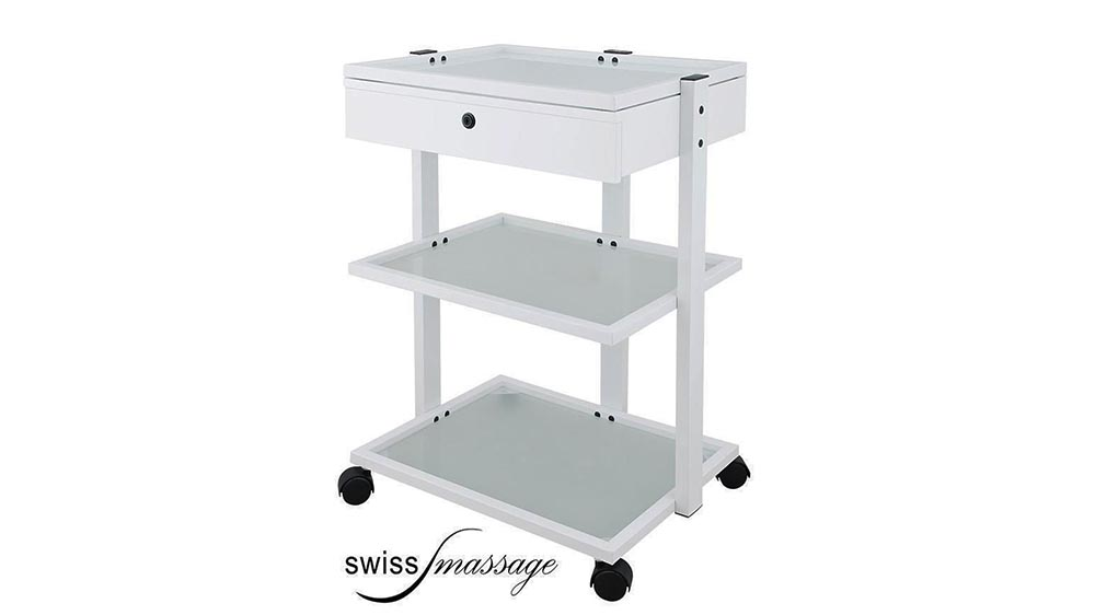 gueridon esthetique serviceboy swissmassage drawer