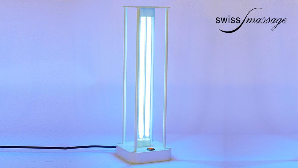 Lampe ultraviolet désinfectante pour cabines d'esthétiques ou cabinets médicaux. UVC