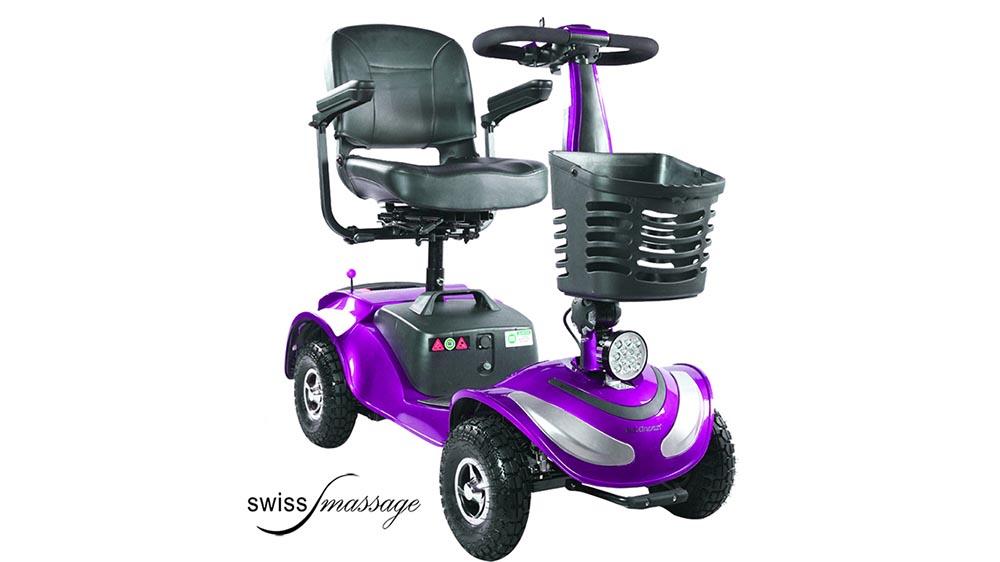 Modèle Cross : Voiturette électrique Senior - Swissmassage