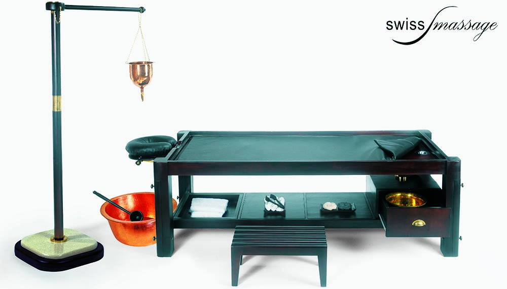 Table ayurvédique modèle india accessoires ayurveda
