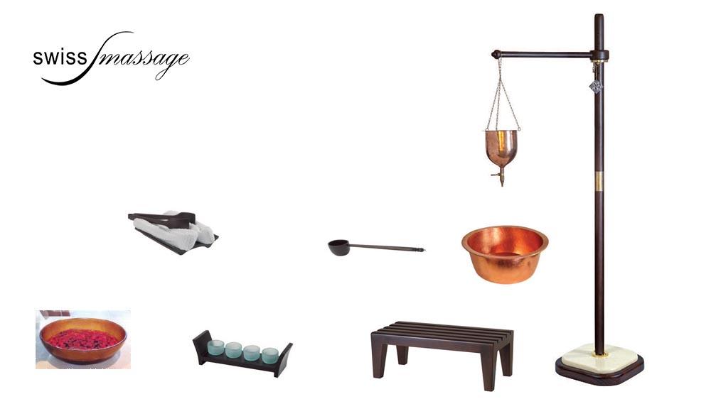 Table ayurvédique modèle india accessoires