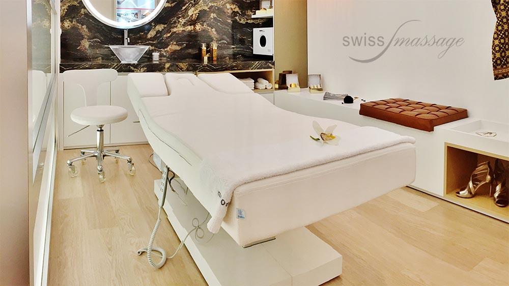 Table de SPA modèle Dubai cabine d'orée