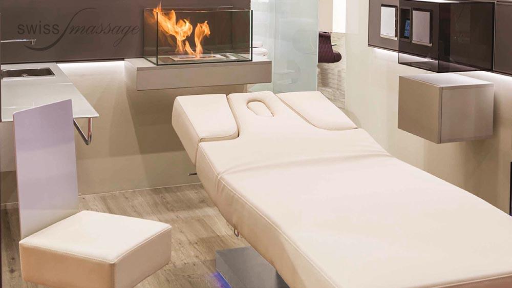 Table de SPA modèle Dubai feu