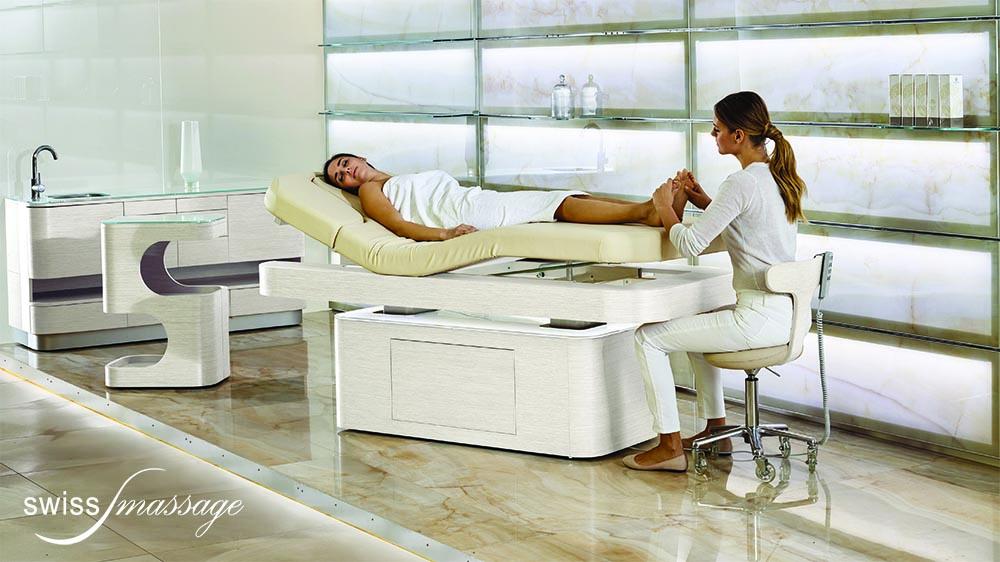 Cabine esthétique table de SPA modèle Nymphea