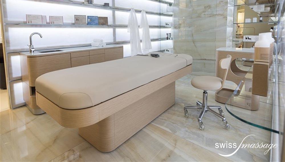 table de SPA modèle Nymphea centre esthétique