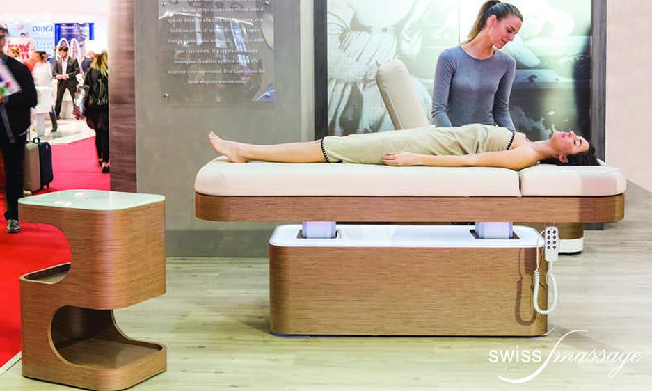 table de SPA modèle Nymphea expo manequin