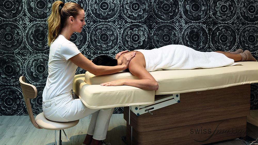 Table de SPA modèle Omnia massage