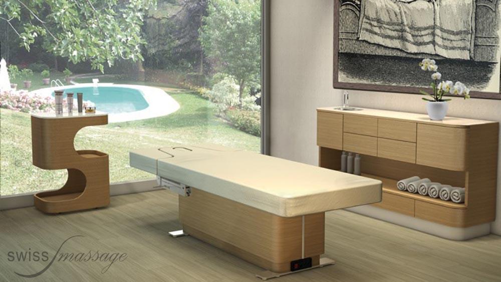 Table de SPA modèle Omnia cabine piscine