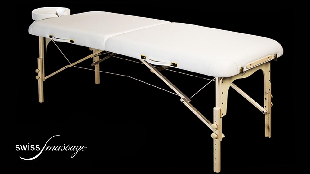 Modèle Confort : Table de massage pliable - Swissmassage