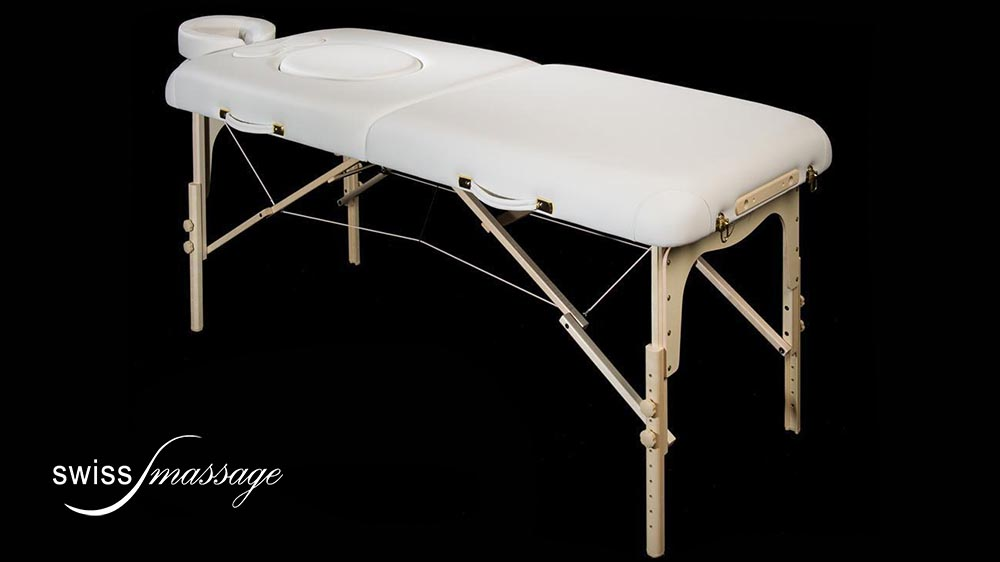 table de massage femme enceinte baby swissmassage