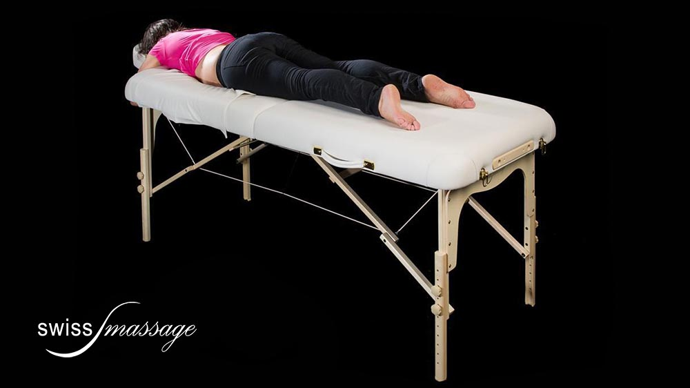 Modèle Baby : Table de massage pliable - Swissmassage