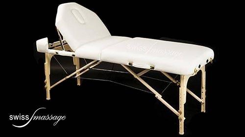 Modèle Select : Table de massage pliable - Swissmassage