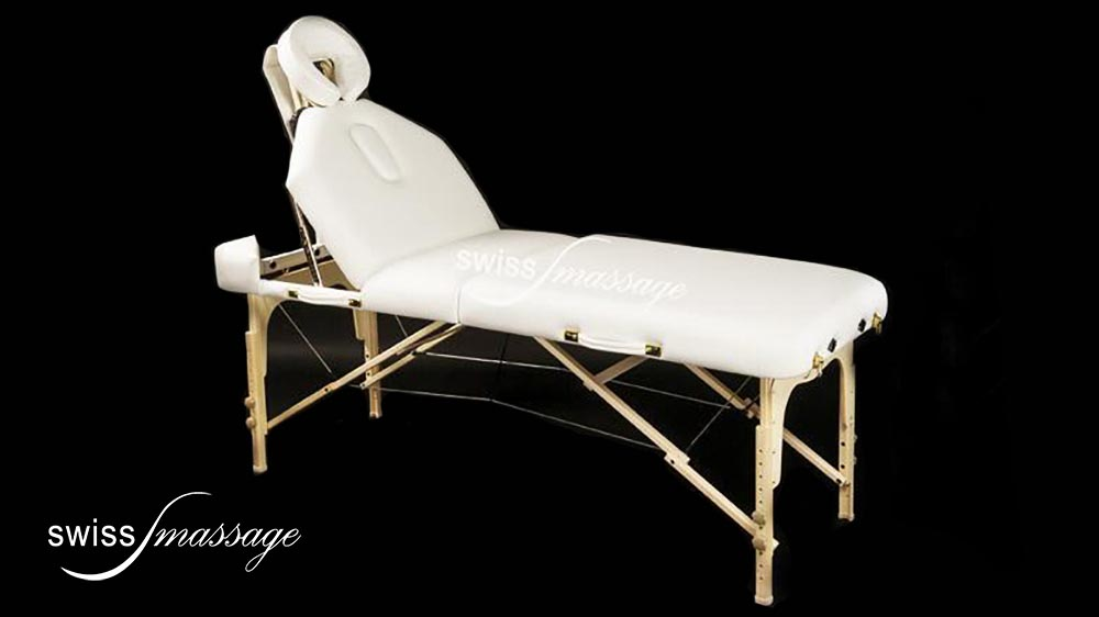 table de massage swissmassage select dossier tetiere 700