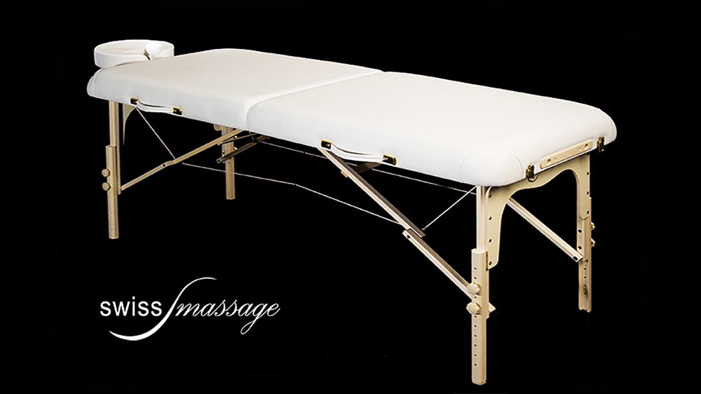 Modèle Sport : Table de massage pliante - Swissmassage