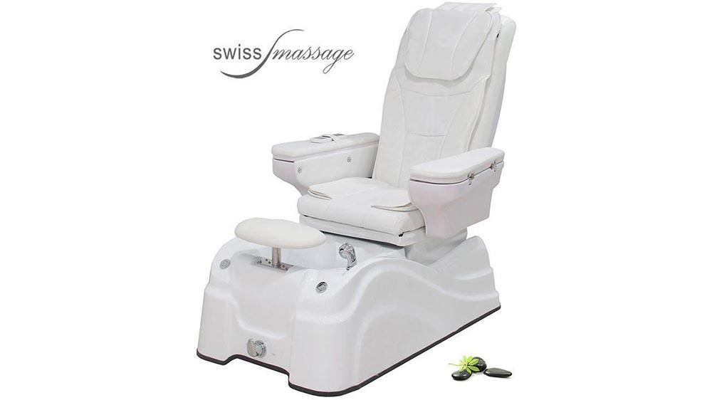 Modèle Pedispa : Fauteuil de soins podologie EMS - Swissmassage