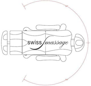 Table esthetique massage beauty swissmassage technique dimensions rotation