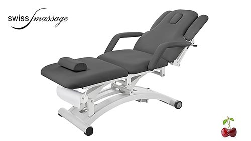 Modèle Ellipse: Table de massage électrique anthracite