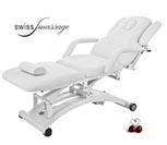 Modèle Ellipse: Table de massage électrique blanche