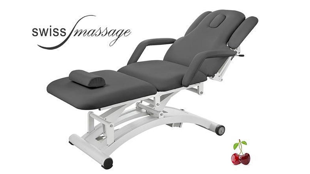 Modèle Ellipse: Table de massage électrique anthracite