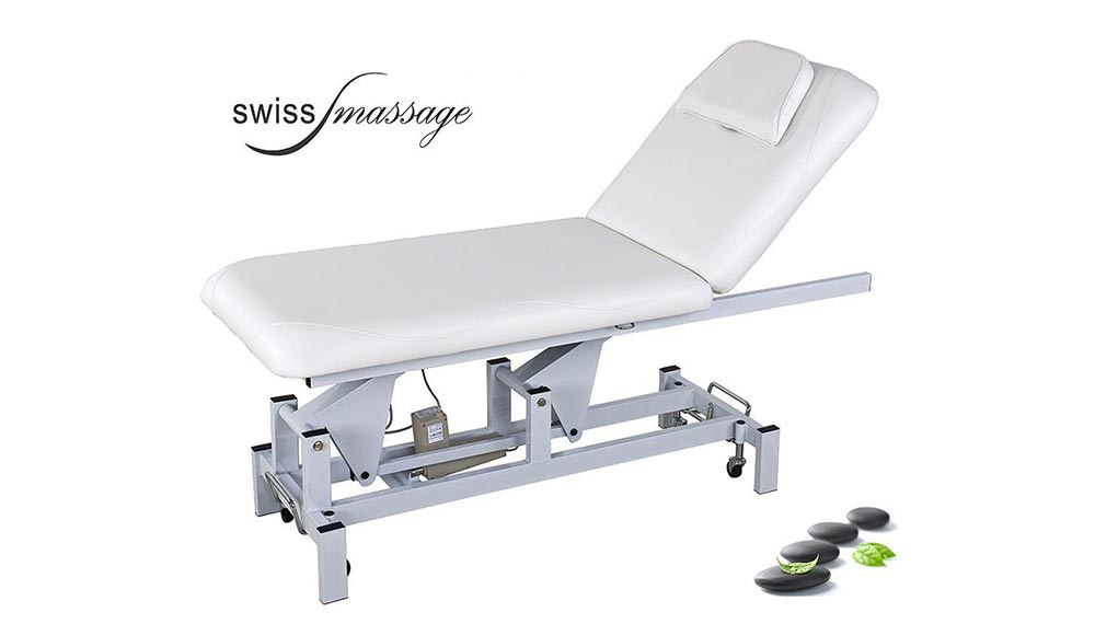 table de massage electrique essential swissmassage