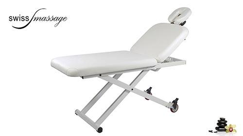 Modèle First : Table de massage électrique - Swissmassage