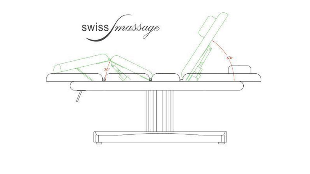 Modèle Wellness : Table de SPA - Swissmassage