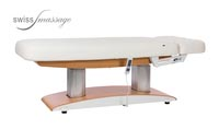 Table de massage excellence bois clair plat