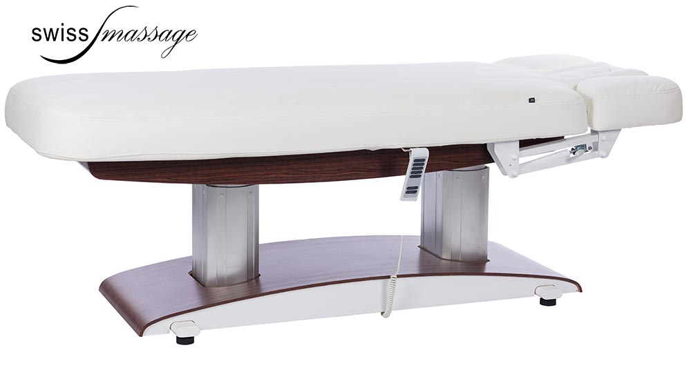 Modèle Excellence SPA Wenge : Table de massage electrique - Swissmassage
