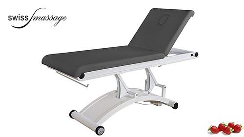 Modèle Luna : Table de soins couleur anthracite - Swissmassage